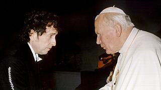 Papst trifft Dylan