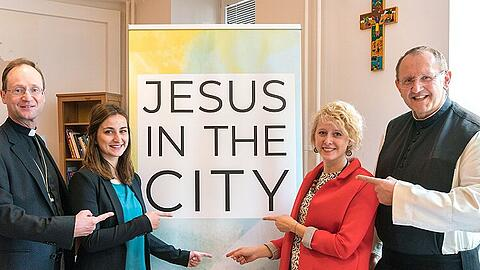 Logo: Jesus in the City""