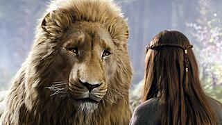 THE CHRONICLES OF NARNIA: PRINCE CASPIAN Aslan appears before GEORGIE HENLEY THE CHRONICLES OF NARNIA: PRINCE CASPIAN As