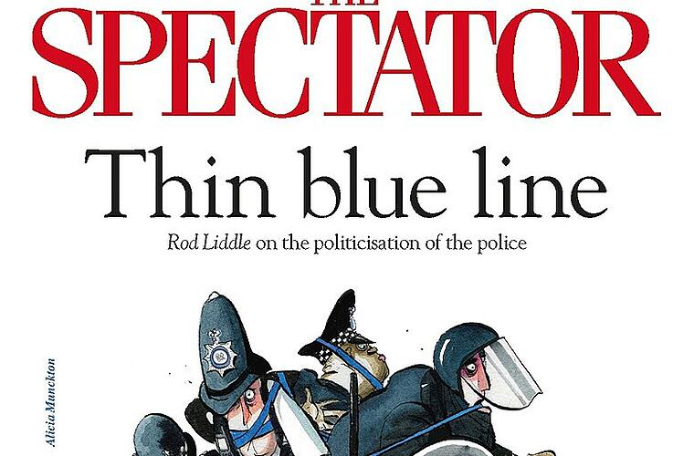 Internationale Zeitungsschau: The Spectator vom 27.06.20