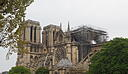 Kathedrale Notre-Dame ohne Dach