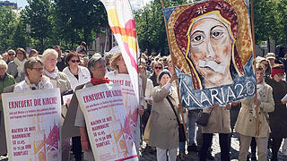 Kirchenstreik 'Maria 2.0' in Münster