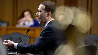 Mark Zuckerberg vor US-Kongress