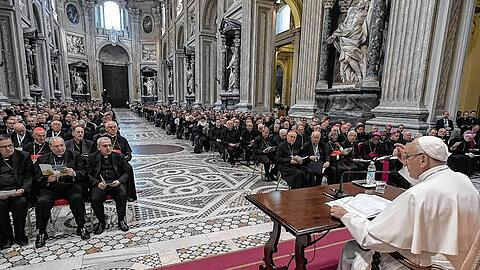 Jubilee for Priests: Pope Francis' first meditation