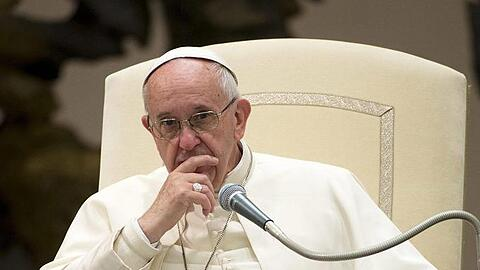 Pope Francis attends the Wednesday General Audience