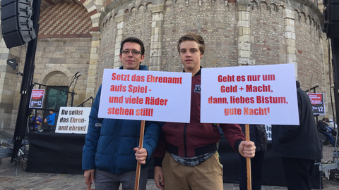 Protest in Trier