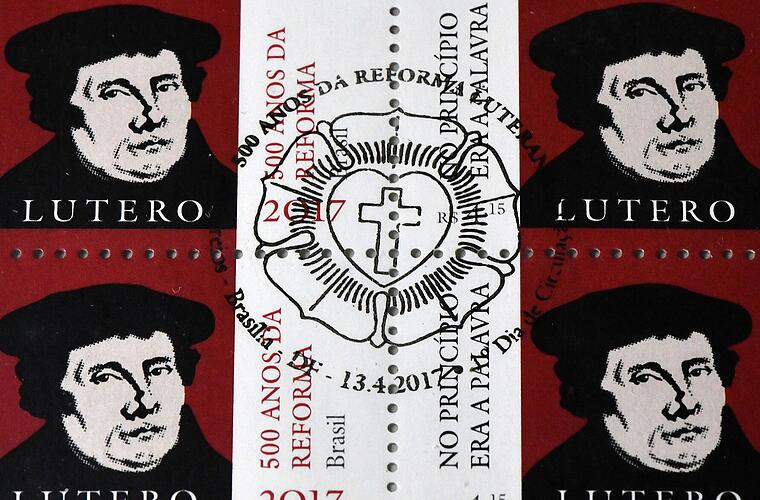Briefmarken zu Martin Luther
