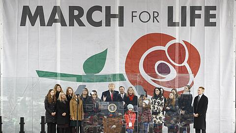 Trump beim March for Life