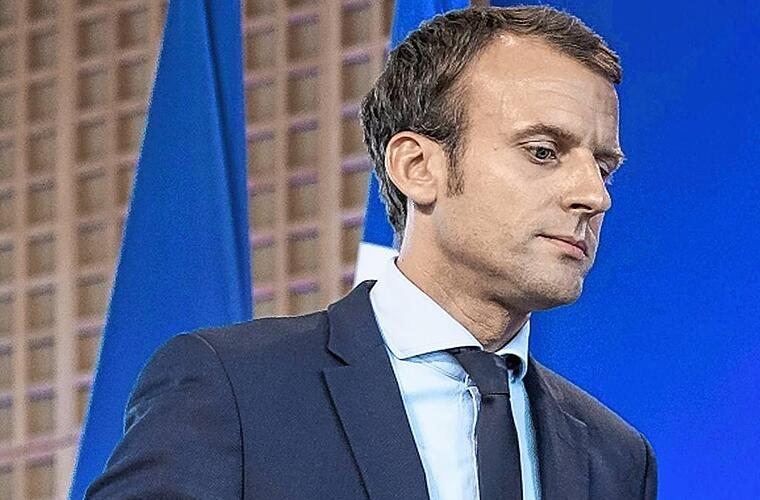 French economy minister Macron resigns