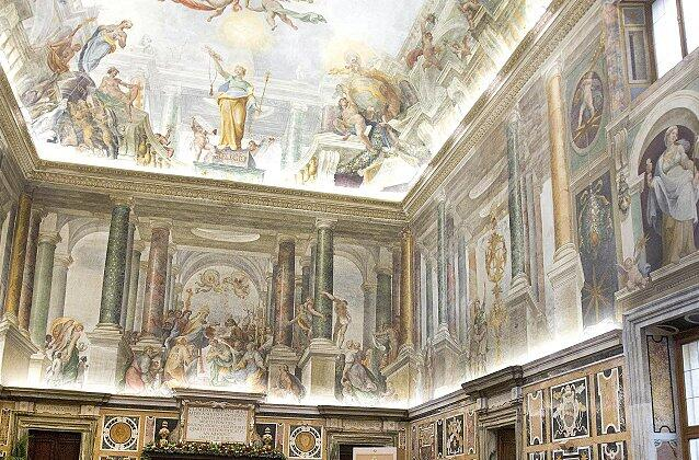 Audience to the Curia for Christmas greetings