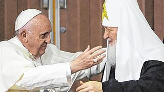 Pope, Russian Orthodox patriarch hold historic meeting in Havana