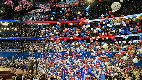 The 2012 Republican National Convention in Tampa, Florida, USA