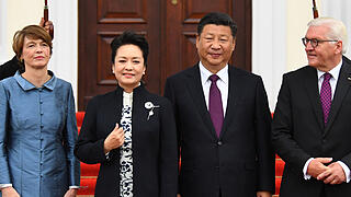 Chinas Präsident Xi Jinping in Berlin