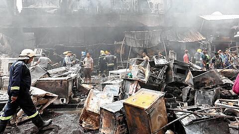 22 killed in a car bomb attack in Baghdad