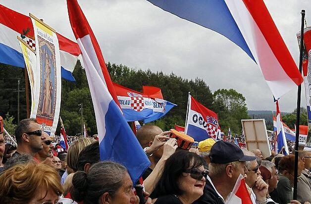 70 years memory of the victims of the Liescha massacre