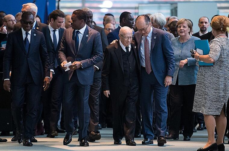 """""""Compact with Africa""""-Konferenz in Berlin"""