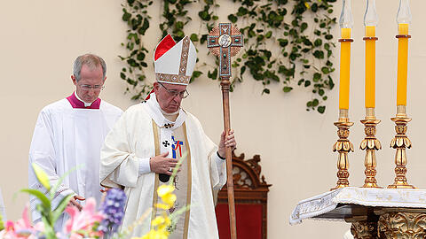 Papstmesse in Iquique