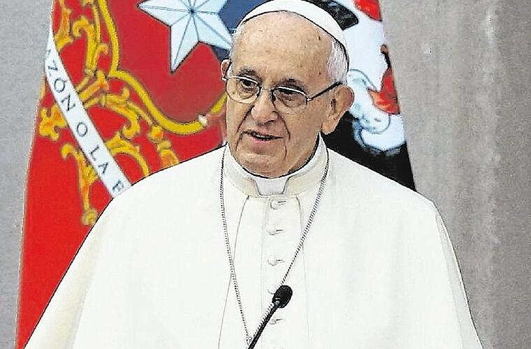 Papstbesuch in Chile